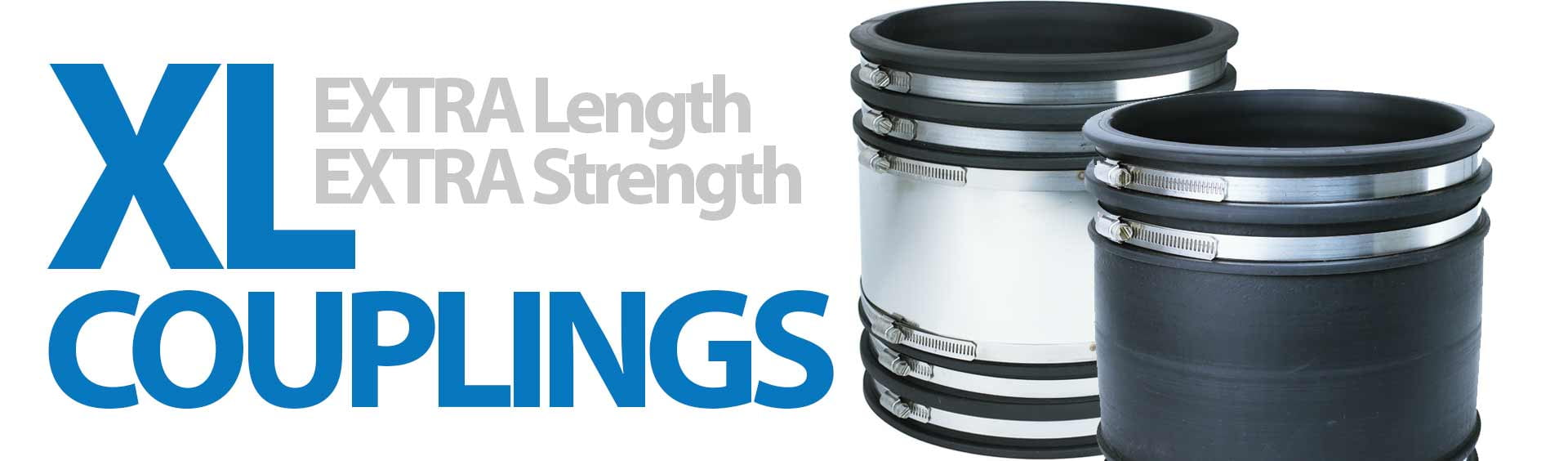 Fernco XL Couplings - Extra Length for Extra Strength