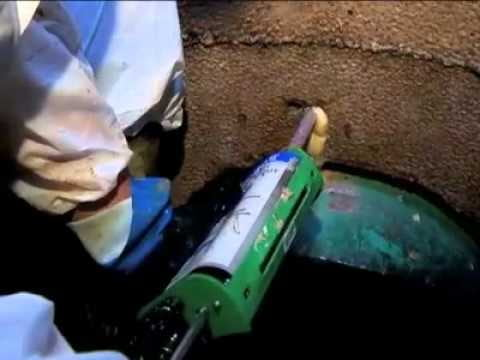 Vazamento de SealGuard II - sistema de vedação de estruturas de cimento e tijolo