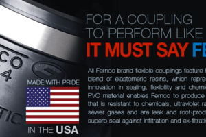 For a coupling to perform like fernco, It must say Fernco.