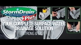 StormDrain Plus instalar vídeo