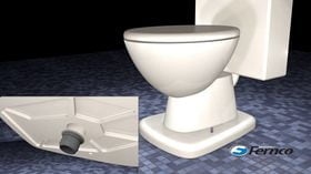 Fernco cera livre WC selo vídeo